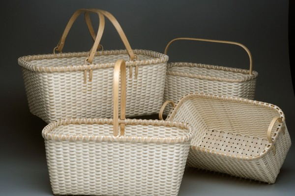 Assorted Beveled Baskets