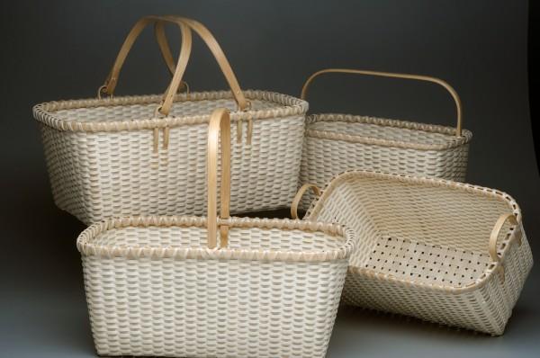 Assorted Beveled Baskets